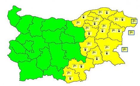 Жълт код за Варна, ще духа силен вятър