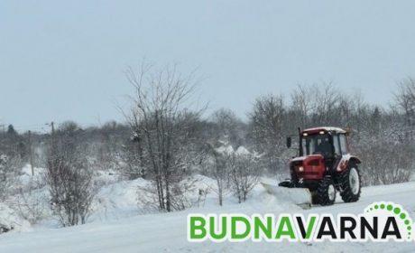 Тежка зимна обстановка на пътя Варна-Кичево