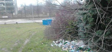 """Районът около пътя за """"Виница"""" тъне в боклуци (снимки)"""