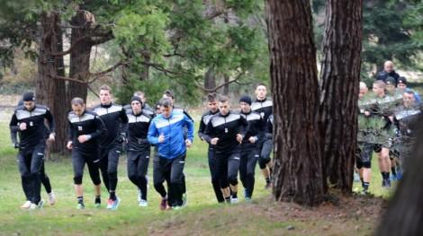 Черно море започна с двуразова тренировка и крос в гората