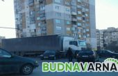 Читател на Будна Варна: катастрофа запуши натоварено кръстовище