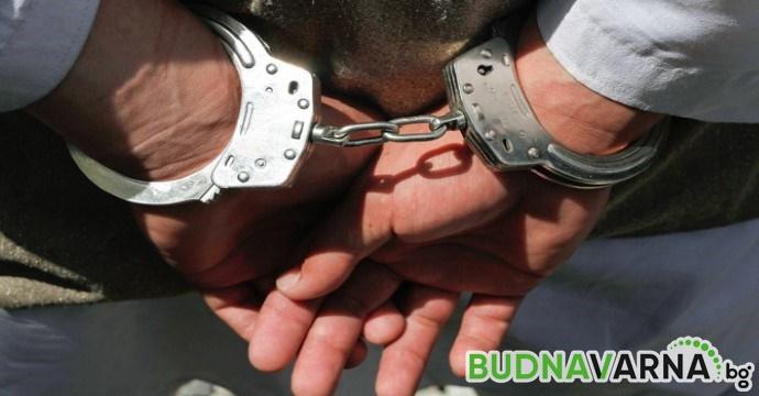 Арест за рецидивист, изпратил дрога на затворник в запалки