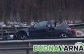 Катастрофа на Хемус край Варна затруднява трафика