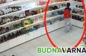 Млада рускиня краде скъпа козметика