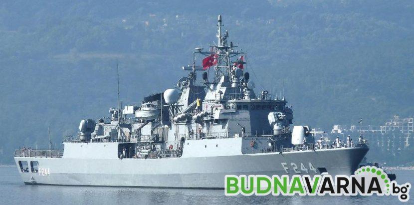 Обиколка с боен кораб за победителя в ученически конкурс за историческо есе във Варна