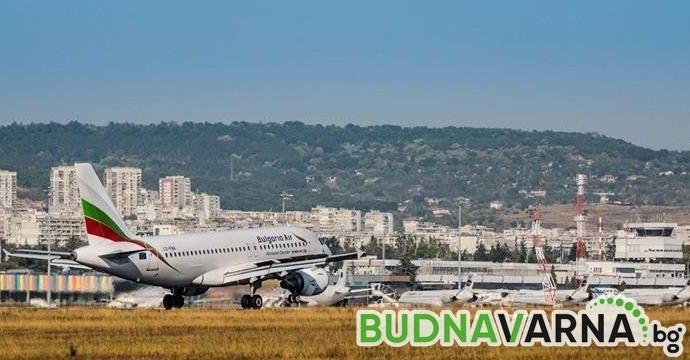 """Важна новина от """"България Еър"""" за всички пътуващи между София и Варна"""