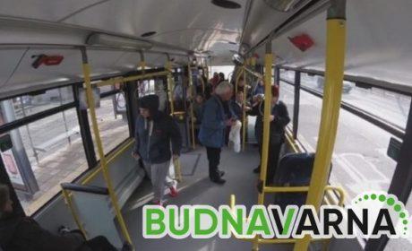 55-годишна жена пострада в автобус на градския транспорт