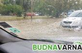 Обстановката във Варна е нормална, пътищата в района са мокри