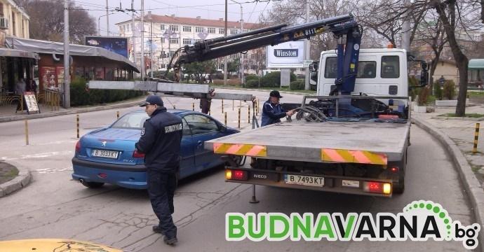 Изненадаха неприятно собствениците на коли на варненска улица