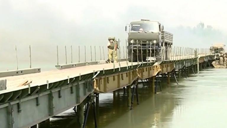 Русия заподозря подкрепяни от САЩ сили за разрушаване на мост над Ефрат