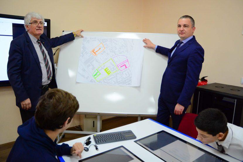 Иван Портних представи визия за нова сграда на Математическата гимназия
