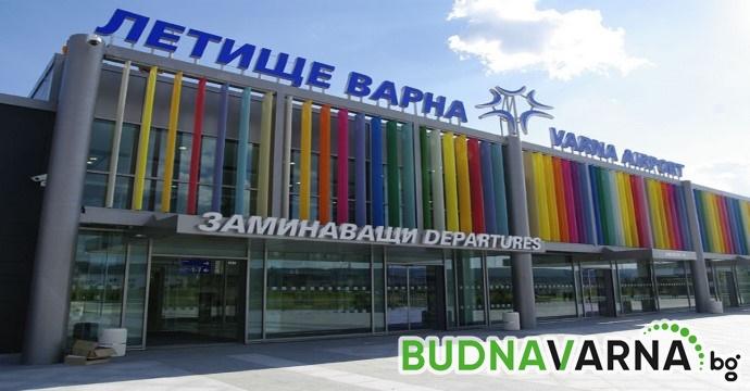 Летище Варна с нови партньори и дестинации през 2019 г.