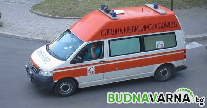 Мъж скочи от блок във Варна