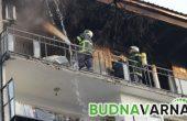Отново горя апартамент във Владиславово