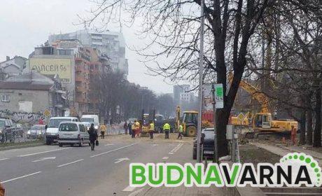 "Затварят част от бул.""Владислав Варненчик"" тази нощ"
