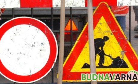 """Временно затварят за движение част от варненската улица """"Девня"""" (маршрут)"""