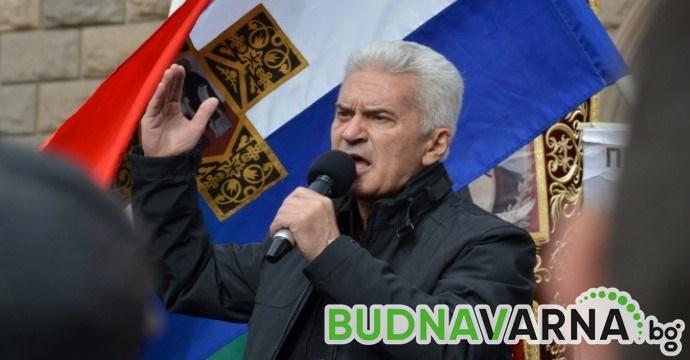Обявиха Волен Сидеров за общодържавно издирване