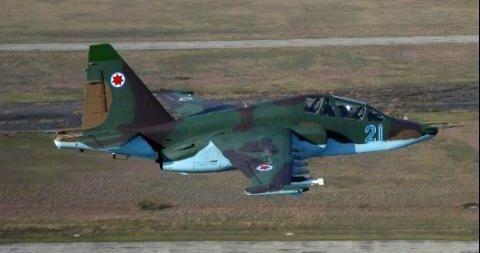 Русия удря със свръх защитени Су-25