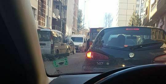 Читателка на Будна Варна: автобус блъсна спрял автомобил