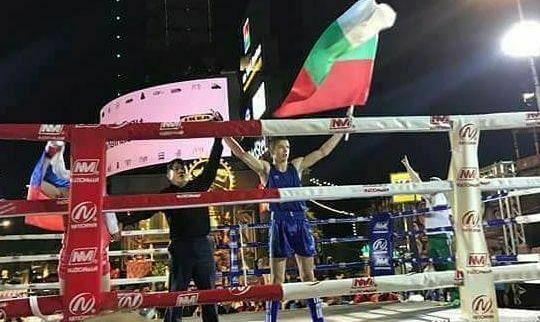 Али Юзеир Световен шампион по муай тай