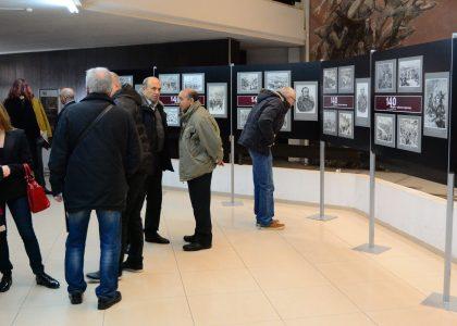"""Изложба """"Войната от първо лице"""" представя 40 гравюри"""