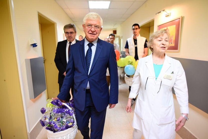 """Министърът на здравеопазването посети УМБАЛ """"Св. Марина"""""""