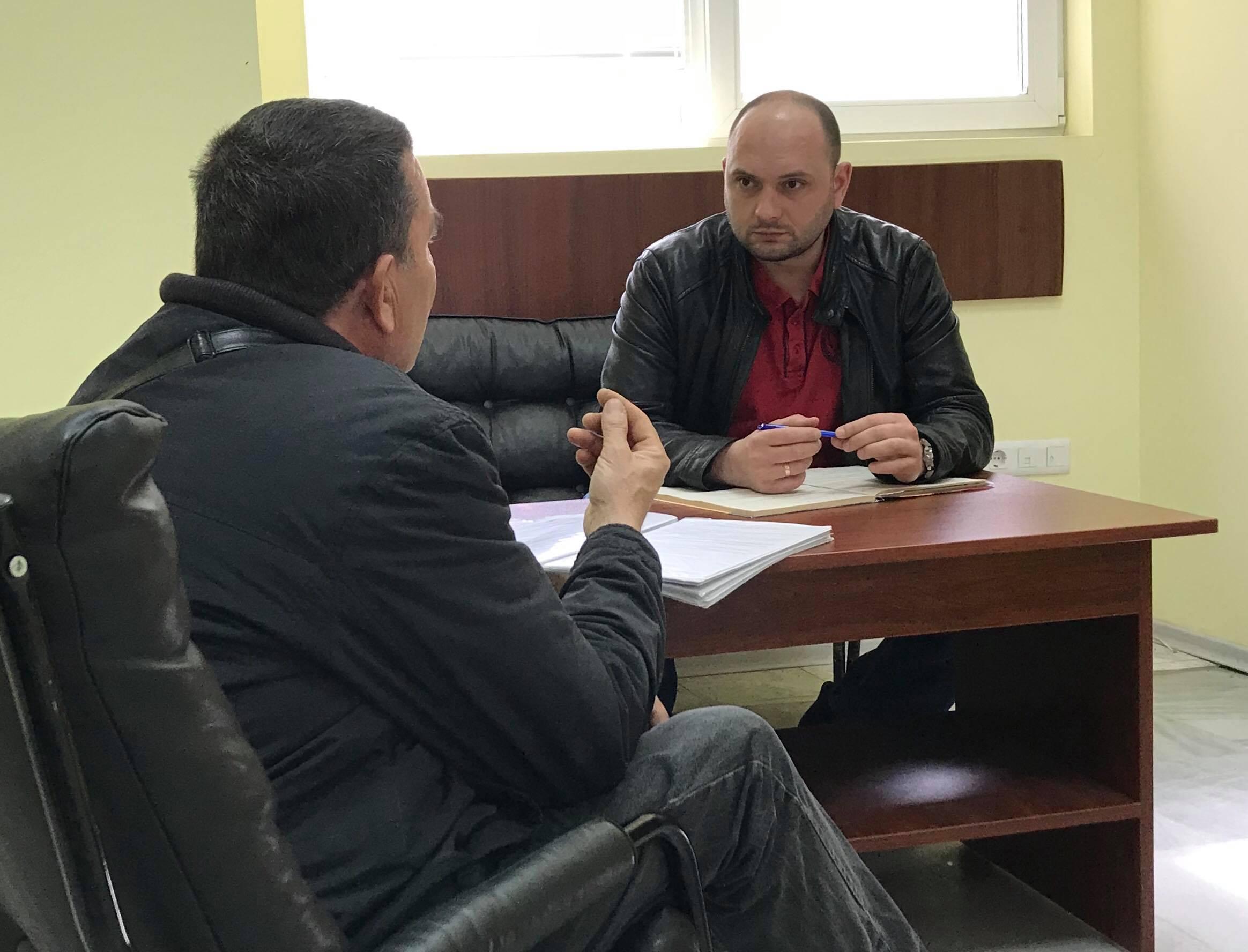 Павел Христов проведе приемна за граждани във Варна