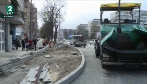 """Варненци без достъп до гаражите си заради строителството на бул.""""Левски"""""""