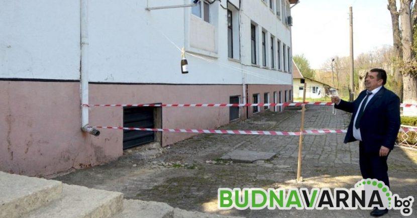 Първа копка в село Стефан Караджа в двора на Професионална гимназия по селско и горско стопанство