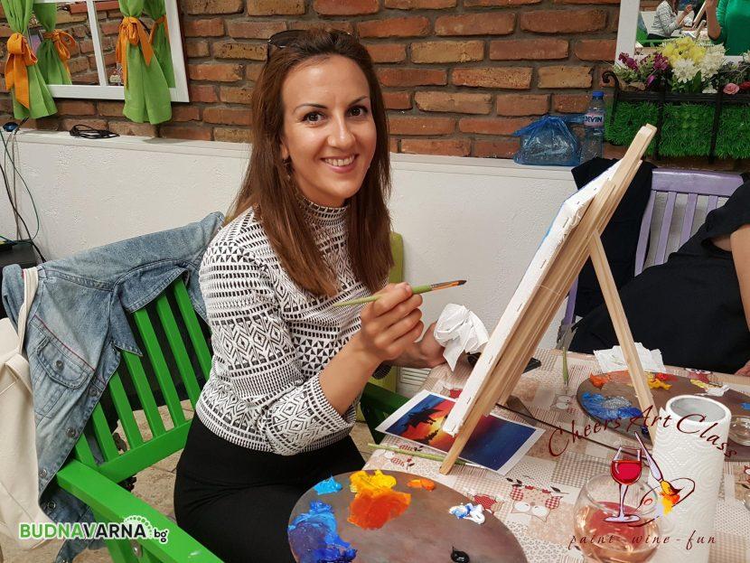 Cheers Art Class днес във Варна
