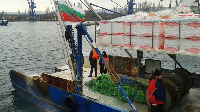 Мащабен европейски проект следи риболова в Черно море