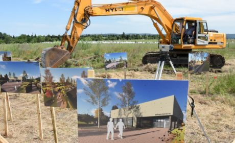 Започна изграждането на модерен крематориум