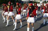 Празничното шествие във