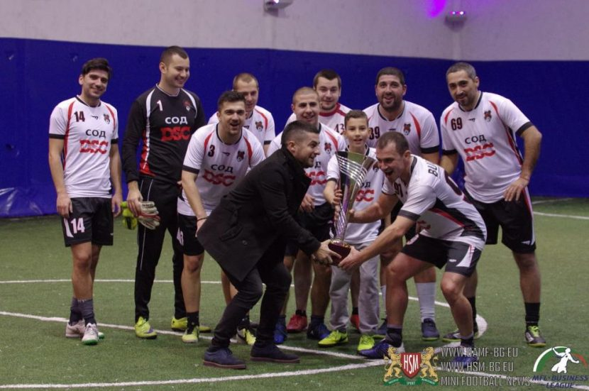СОД DSC представя България в континенталната лига по футбол 8