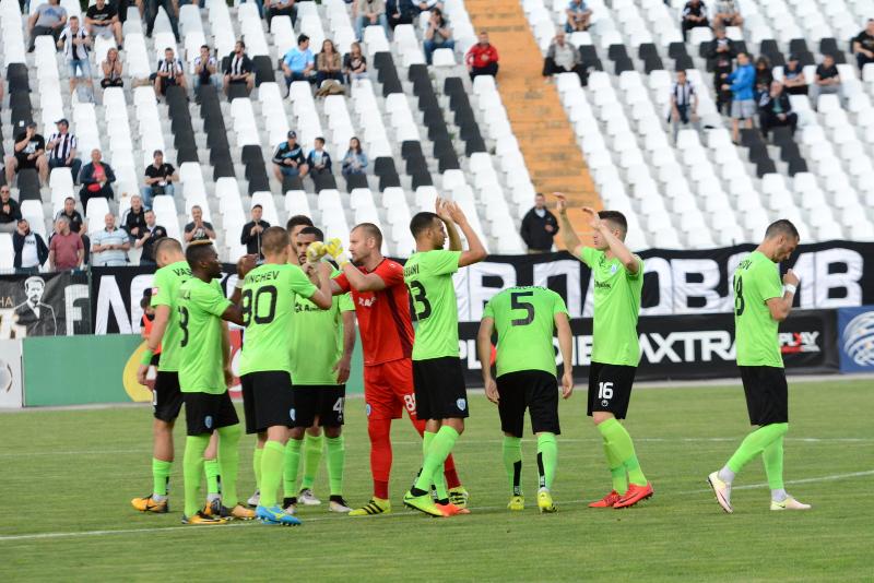 Черно море на бараж за Лига Европа!