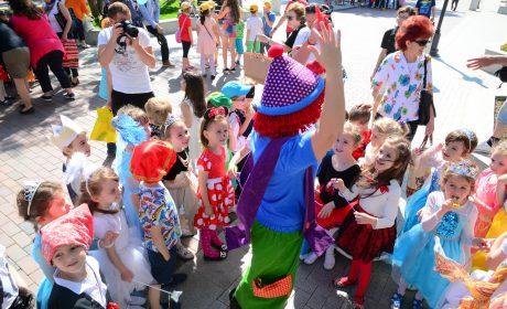 Детски празник и безплатен спорт за 1-ви юни