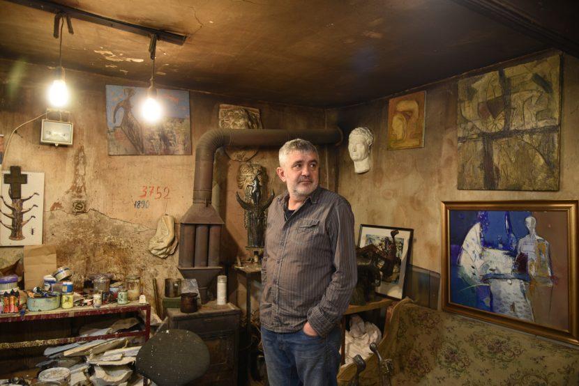 Откриват втора част от юбилейната изложба на скулптора Христо Христов