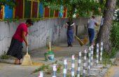 Бригади метат без пари улиците, събират липовия цвят