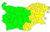 Жълт код за Варна и областта днес