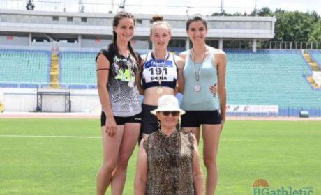 Варненска лекоатлетка стана национална шампионка за юноши и девойки на 200 метра