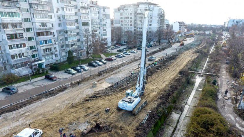 """Новият бул. """"Васил Левски"""" ще е готов през пролетта"""