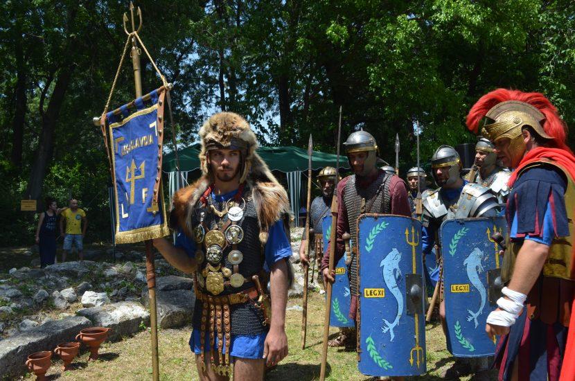 Девненският фестивал пресъздаде залеза на Римската империя