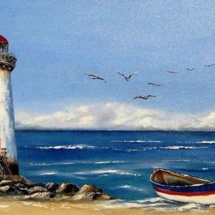 """Днес в """"CHEERS ART CLASS"""" ще се рисува """"морски фар"""""""