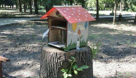 """Започва кампания за попълване на """"къщичка за книги"""" в кв. Аспарухово"""