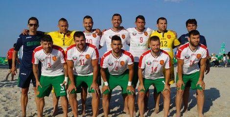 Националите по плажен футбол разгромиха Молдова в контрола във Варна