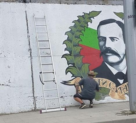 Напредва реставрирането на Стената на героите