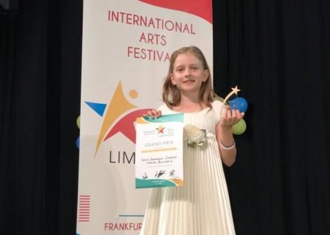 9-годишната София от Варна спечели музикална награда Grand Prix и в Германия