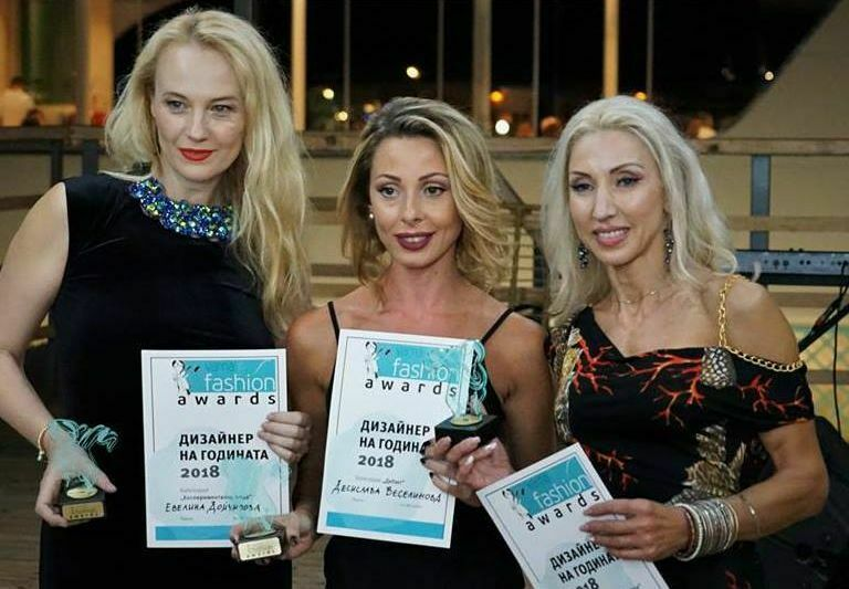 Раздадоха модните статуетки Varna Free Fashion Awards 2018
