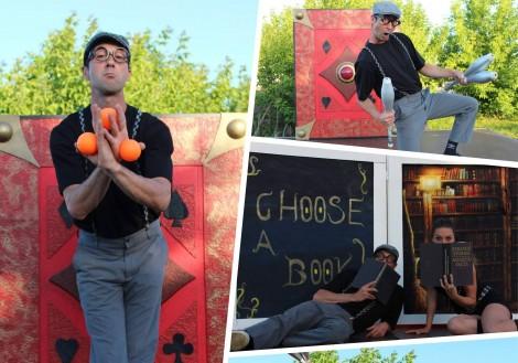 Безплатен уличен цирк днес