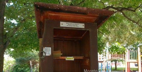 Къщичка за книги радва жителите на кв. Левски